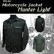 HTJ-201《HUNTER LIGHT》Light-Weight Motorcycle Jacket for Middle and Hot Seasons Liquid Proof